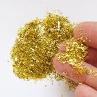 Crushed Crystal - Gold